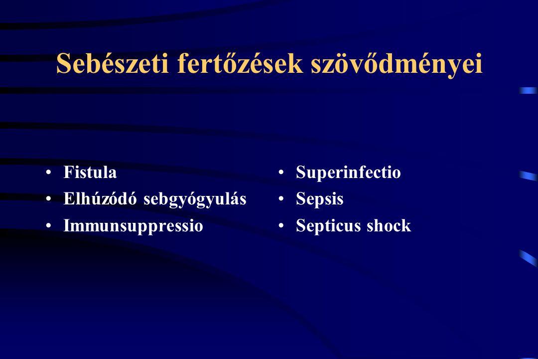 Sebészeti fertőzések diagnózisa I.