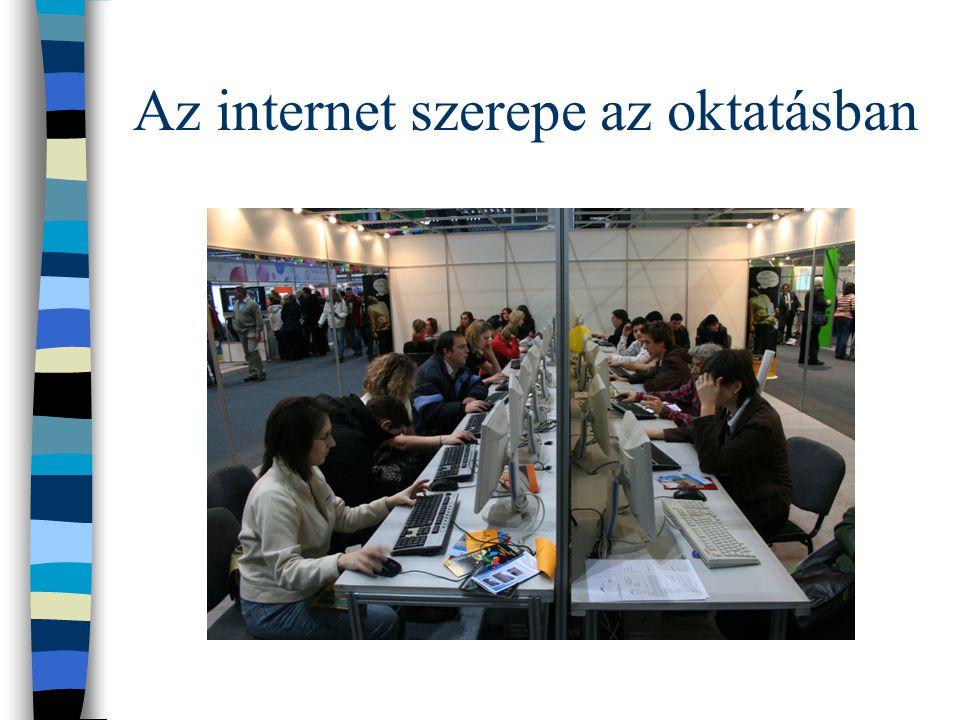 Az internet szerepe az oktatásban