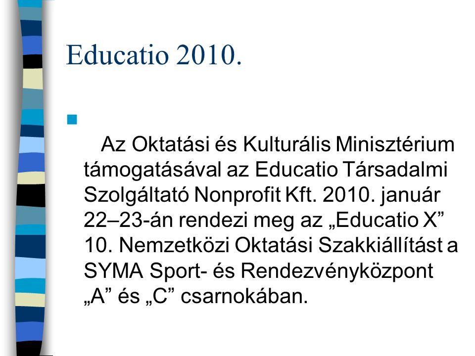 Educatio 2010.