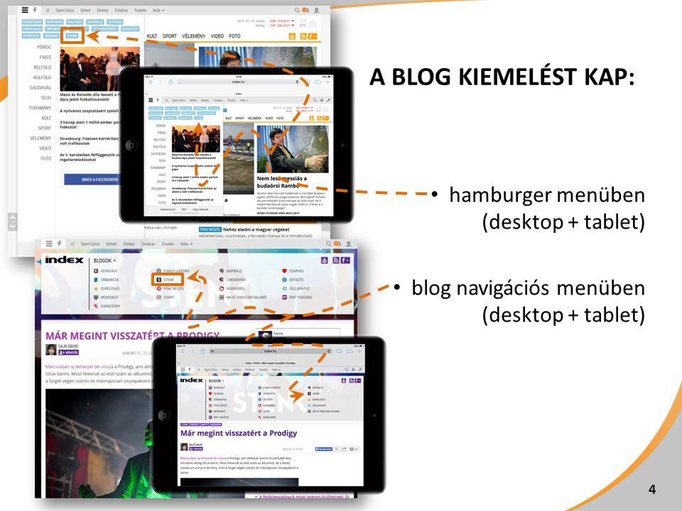 BEVEZETŐ LISTAÁRAK FelületMegjelenésBevezető listaár Index Stenk (desktop + tablet) Billboard (970x250 px) 300.000 Ft/hét Index Stenk, cikkoldalak (desktop + tablet) Roadblock (640x360 px) 330.000 Ft/hét Index Stenk (desktop + tablet) Half page 1 (300x600 px) 350.000 Ft/hét 5 Becsült elérés és megjelenésszám 2 : 15.000 UV/hét, 30.000 AV/hét 1 Index tableten a half page csak fekvő nézetben jelenik meg.