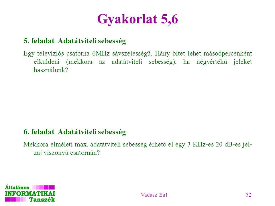 Vadász Ea1 52 Gyakorlat 5,6 5.