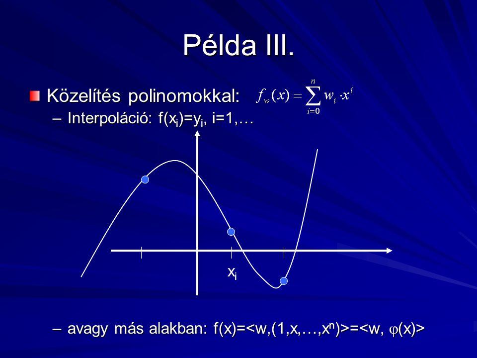 Példa III.