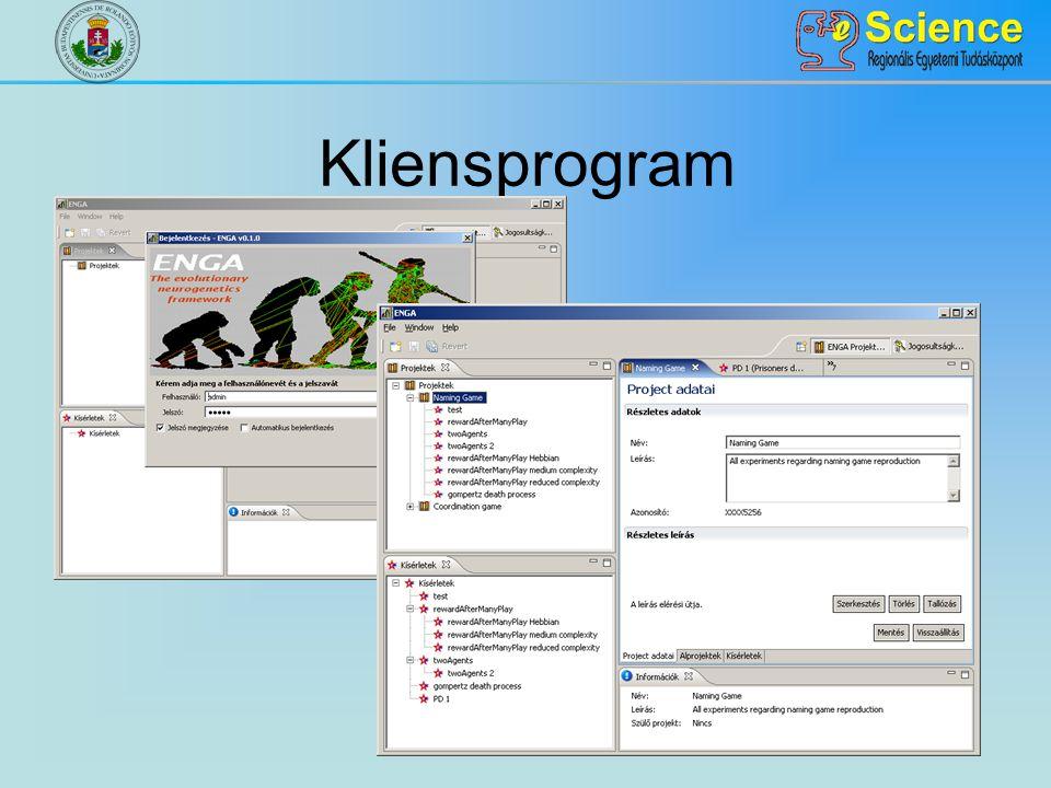Kliensprogram