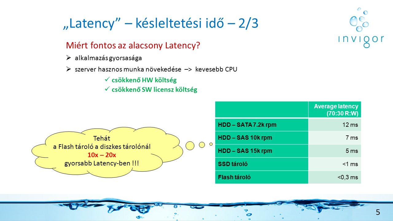 """""""Latency – késleltetési idő – 2/3 5 Miért fontos az alacsony Latency."""
