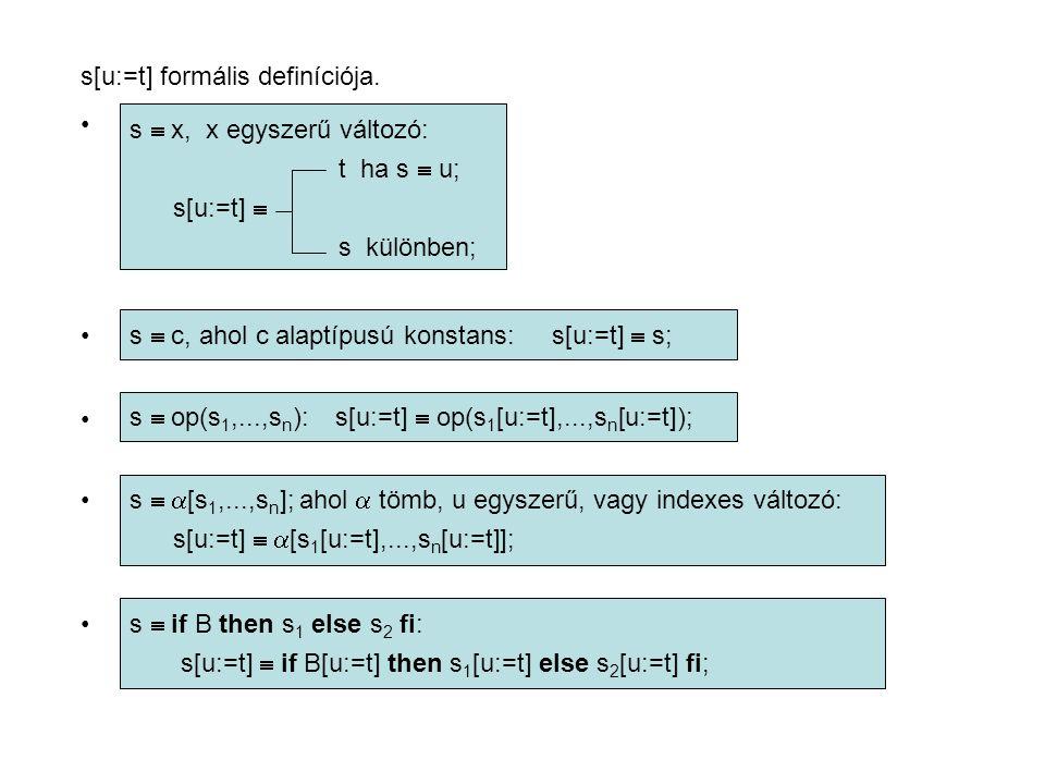 s[u:=t] formális definíciója.