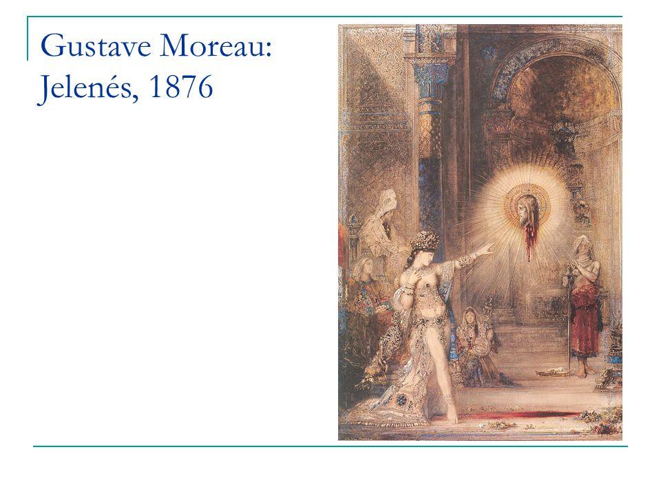 Gustave Moreau: Jelenés, 1876