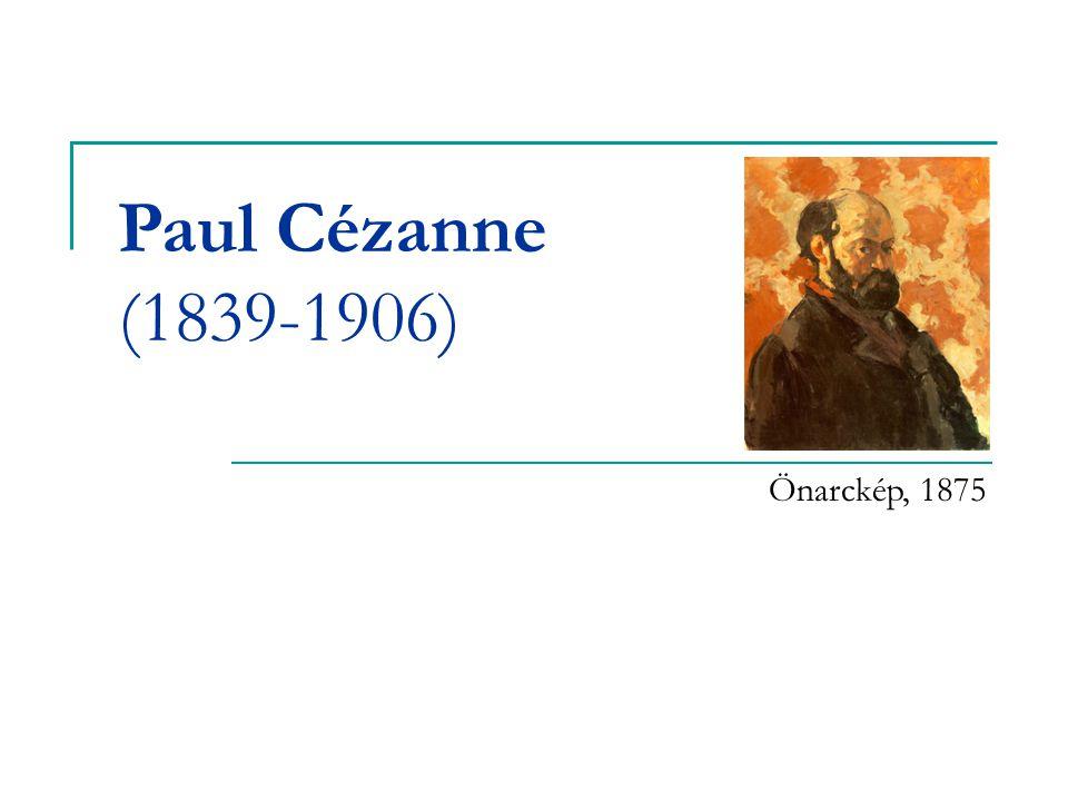 Paul Cézanne (1839-1906) Önarckép, 1875