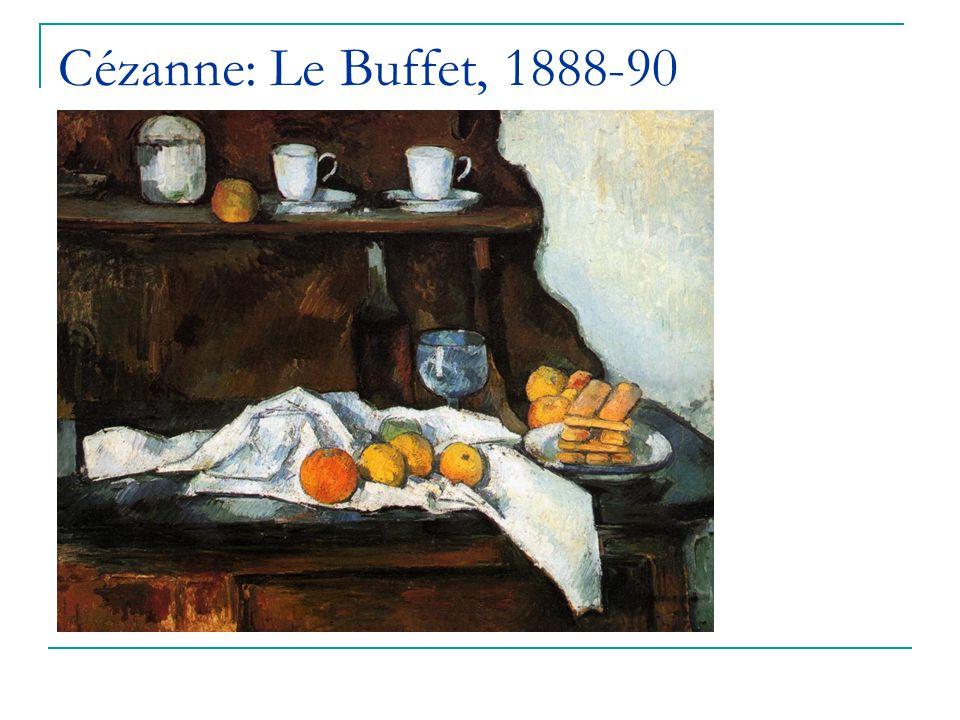 Cézanne: Le Buffet, 1888-90
