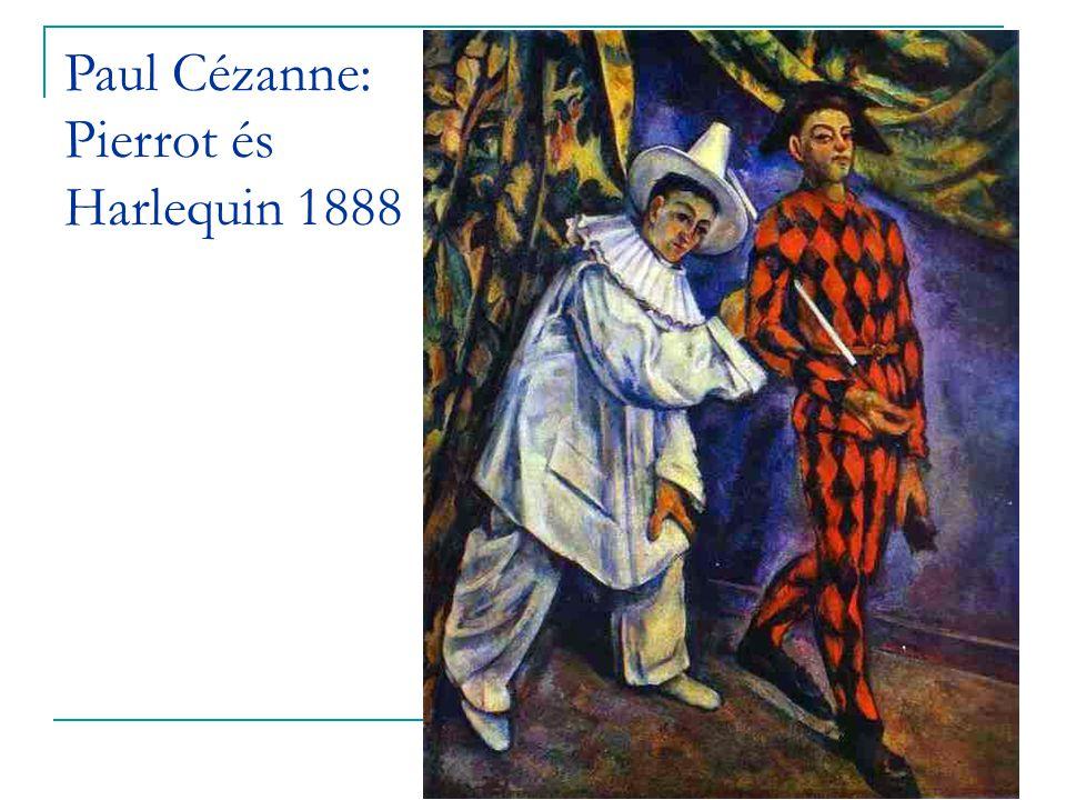 Paul Cézanne: Pierrot és Harlequin 1888