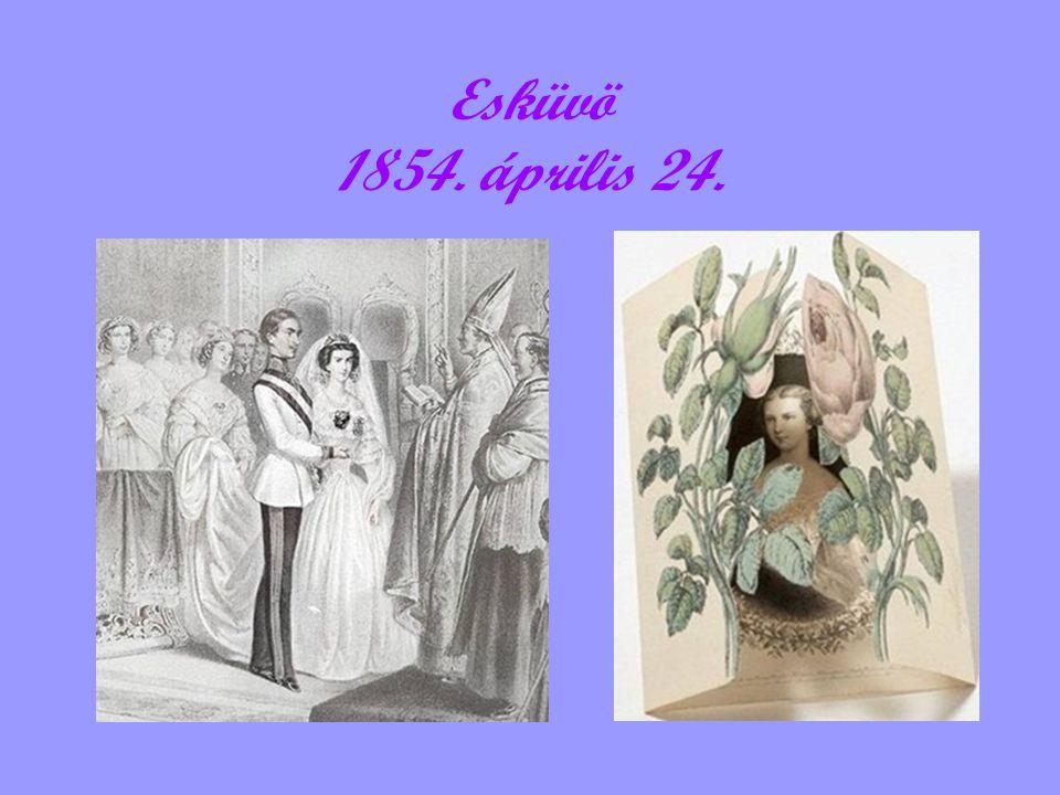 Esküvö 1854. április 24.