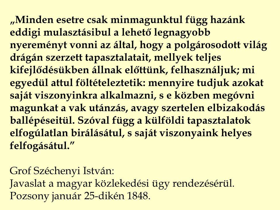 Magyar Közlekedéspolitika 1996