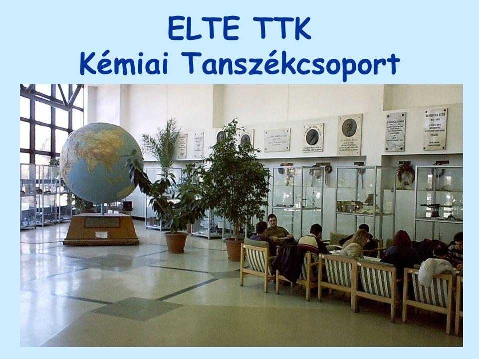 ELTE TTK Kémiai Tanszékcsoport