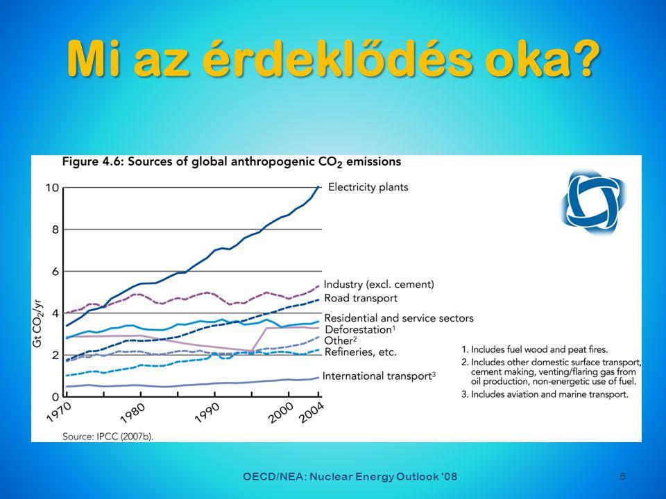 Ha a trendek folytatódnak 2050-ig 6OECD/NEA: Nuclear Energy Outlook 08 A Föld lakossága 50%-al n ő...