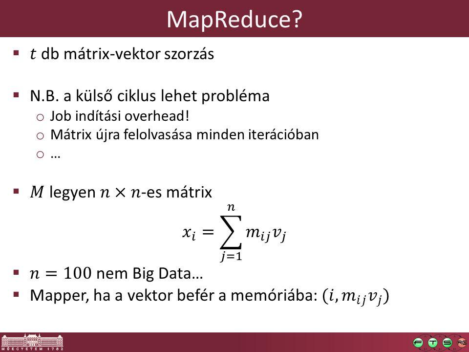 MapReduce?
