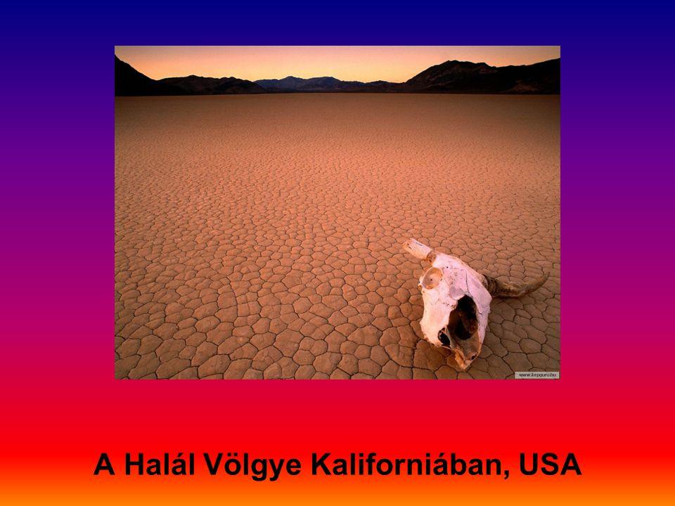 A Halál Völgye Kaliforniában, USA