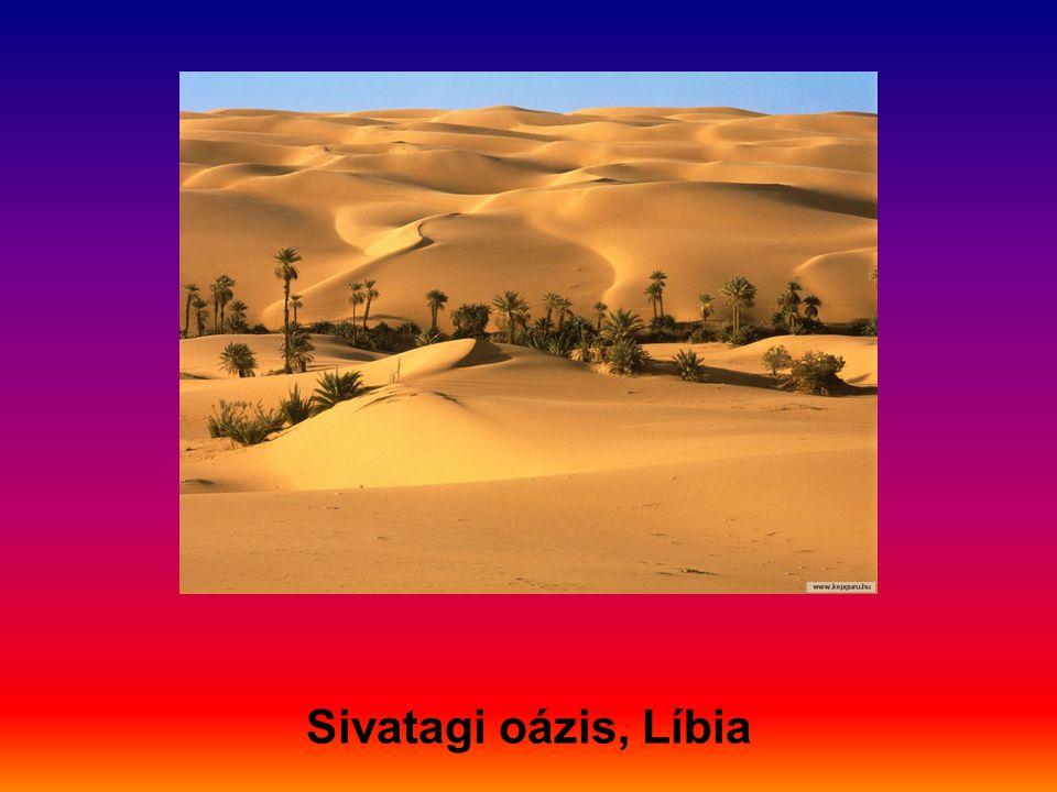 Sivatagi oázis, Líbia