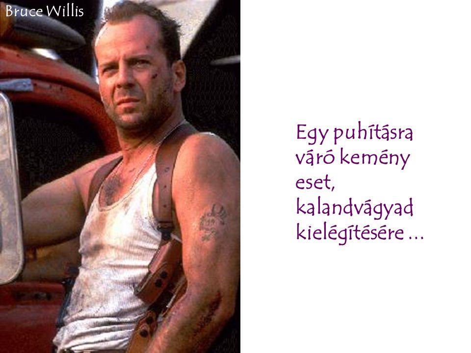 Egy puhításra váró kemény eset, kalandvágyad kielégítésére... Bruce Willis