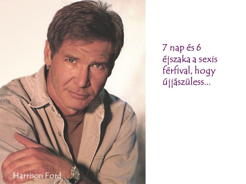7 nap és 6 éjszaka a sexis férfival, hogy újjászüless... Harrison Ford