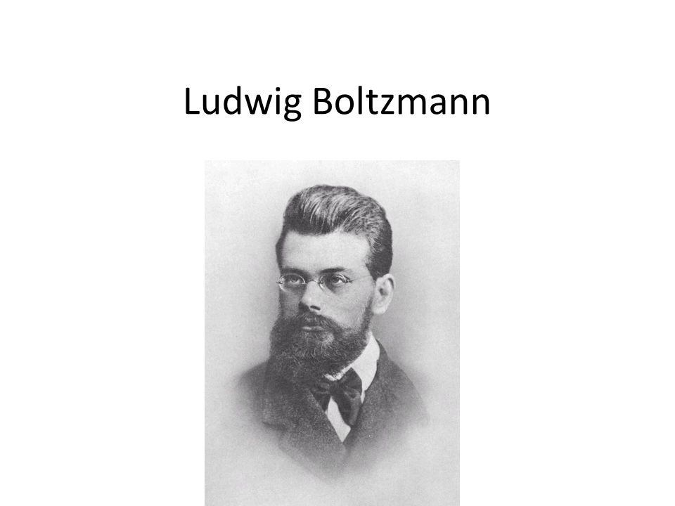 Ludwig Eduard Boltzmann (Bécs, 1844.február 20.