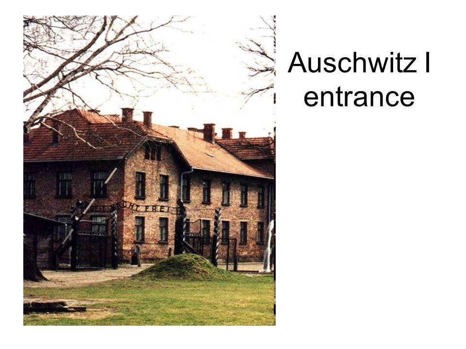 Auschwitz I entrance
