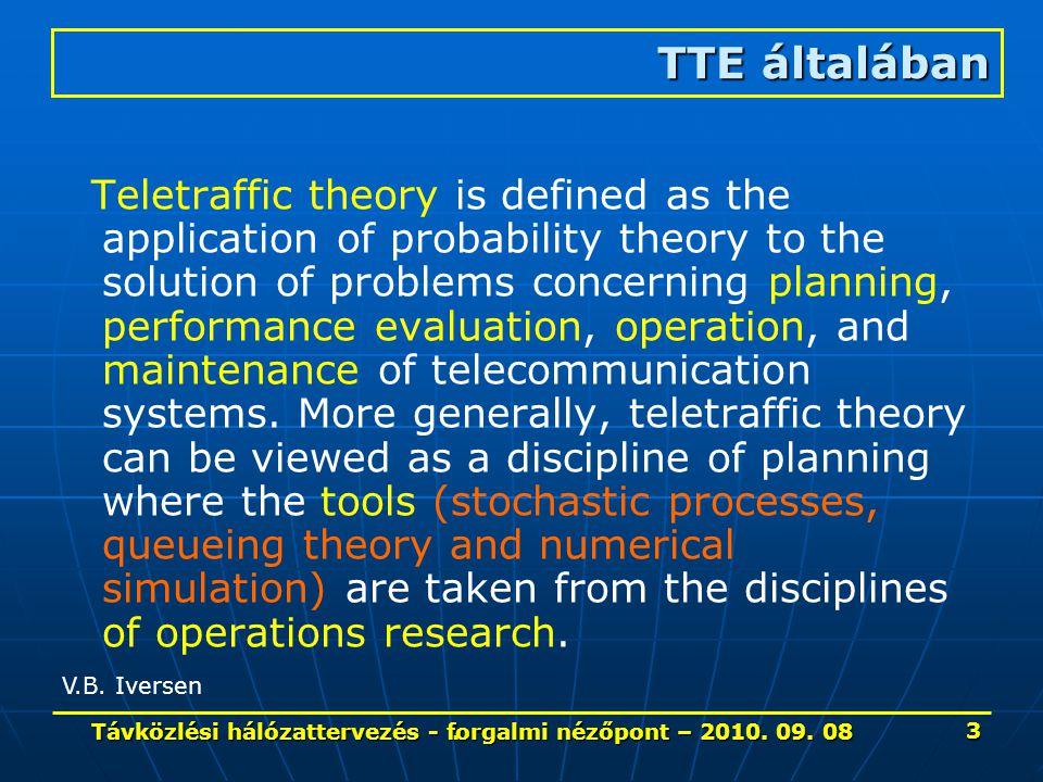 ...GSM hálózatokban 34 Távközlési hálózattervezés - forgalmi nézőpont – 2010.