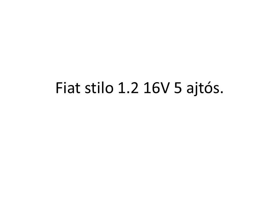Fiat stilo 1.2 16V 5 ajtós.