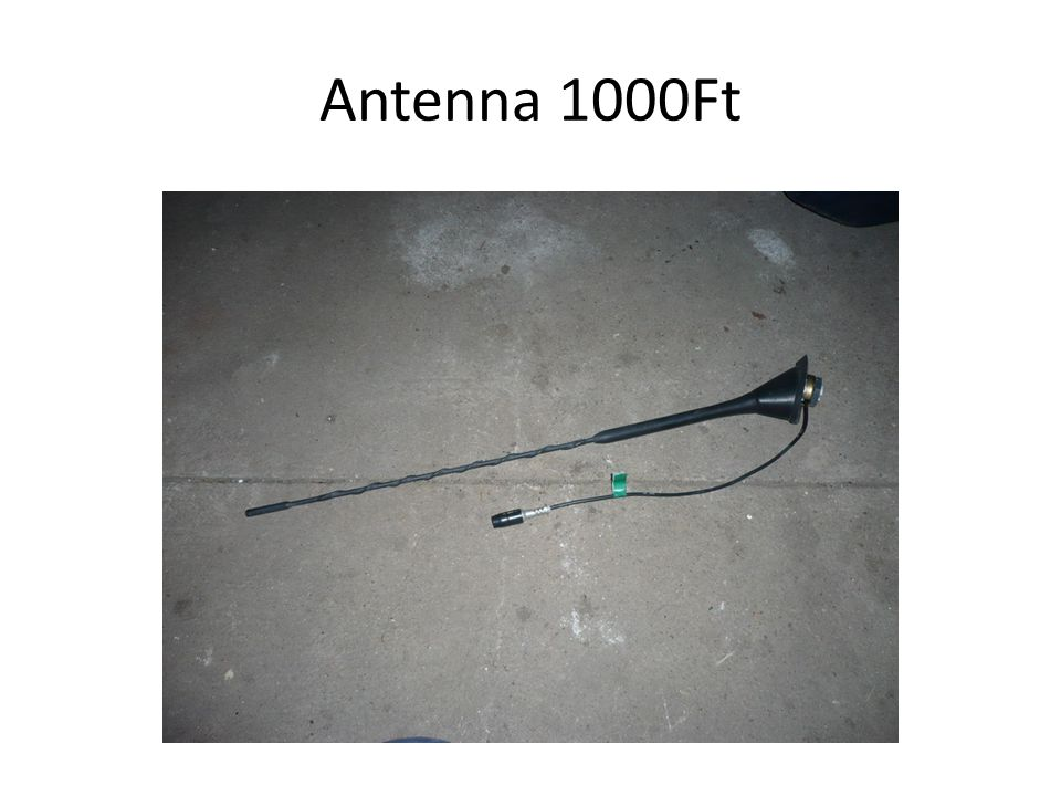 Antenna 1000Ft