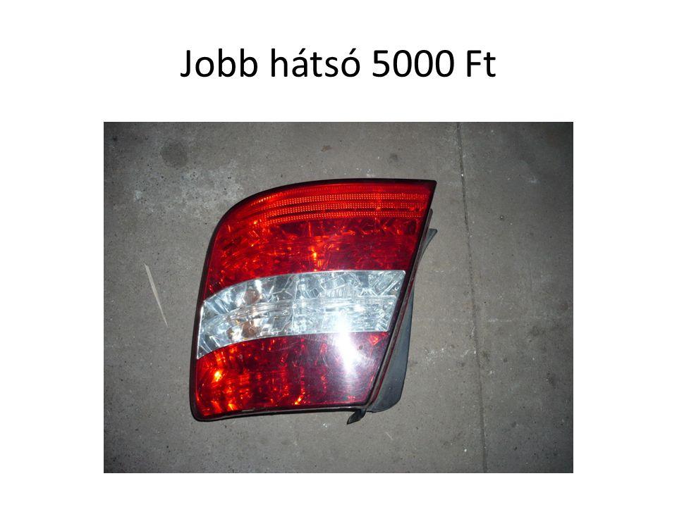 Jobb hátsó 5000 Ft