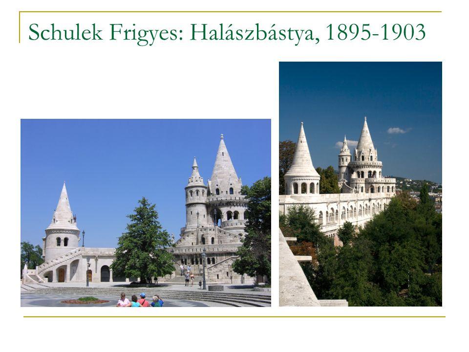 Schulek Frigyes: Halászbástya, 1895-1903