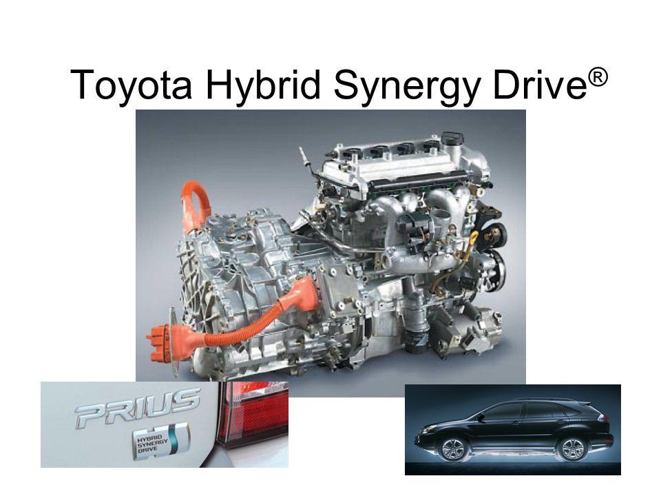 Toyota Hybrid Synergy Drive ®