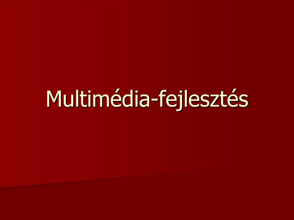 Multimédia-fejlesztés