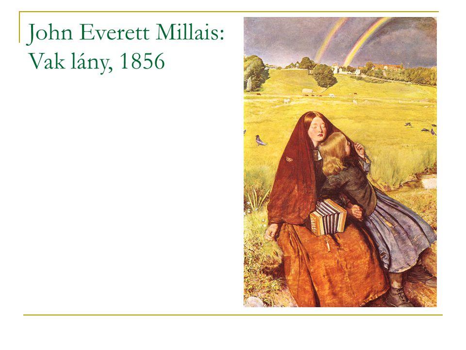 John Everett Millais: Vak lány, 1856