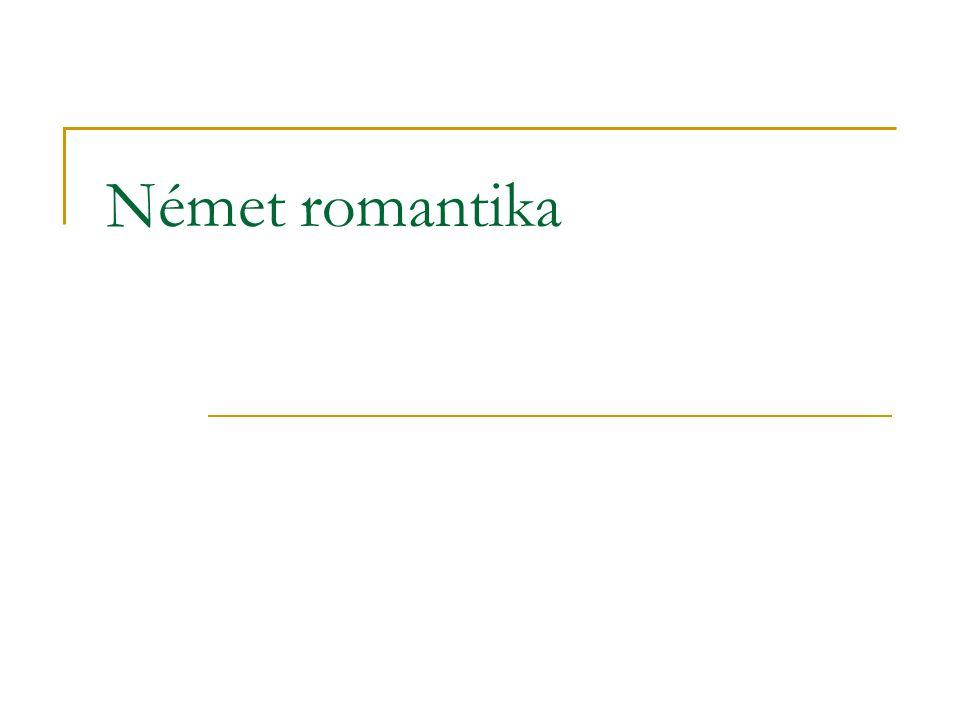 Német romantika