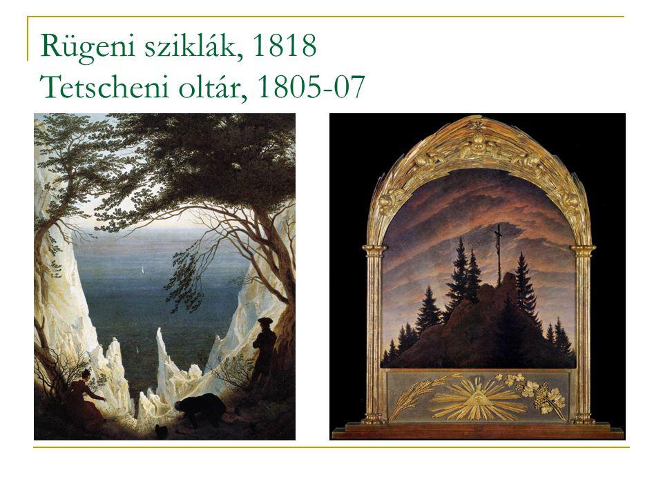 Rügeni sziklák, 1818 Tetscheni oltár, 1805-07