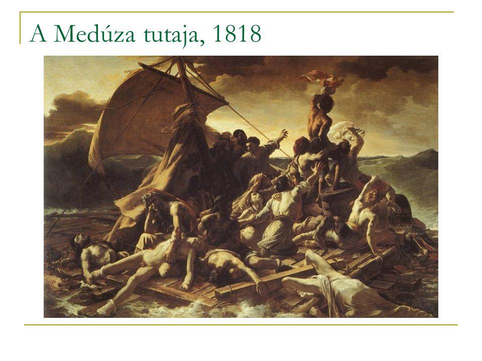 A Medúza tutaja, 1818