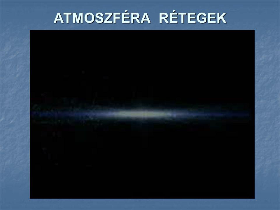 ATMOSZFÉRA RÉTEGEK