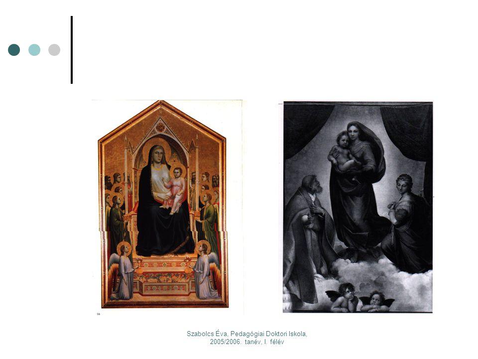 Szabolcs Éva, Pedagógiai Doktori Iskola, 2005/2006. tanév, I. félév