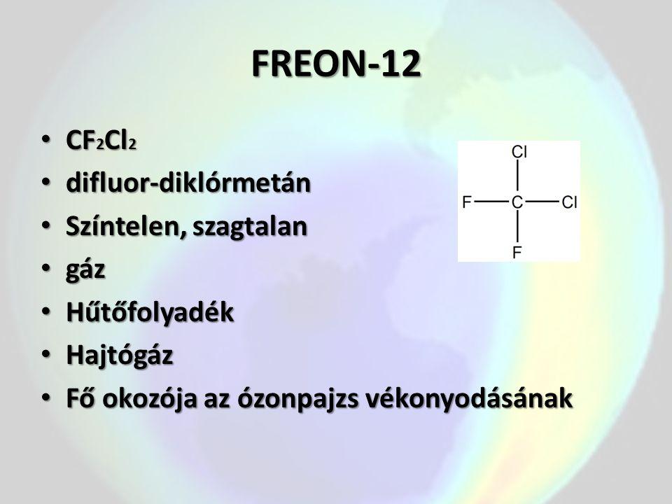 SZÉN-TETRAKLORID Tetraklórmetán Tetraklórmetán CCl 4 CCl 4 Színtelen, erősen fénytörő, kellemes szagú Színtelen, erősen fénytörő, kellemes szagú Mérgező, éghetetlen Mérgező, éghetetlen folyadék folyadék Vízzel elkülönül (alsó fázis) Vízzel elkülönül (alsó fázis) Oldószere: zsíroknak, olajoknak, stb.