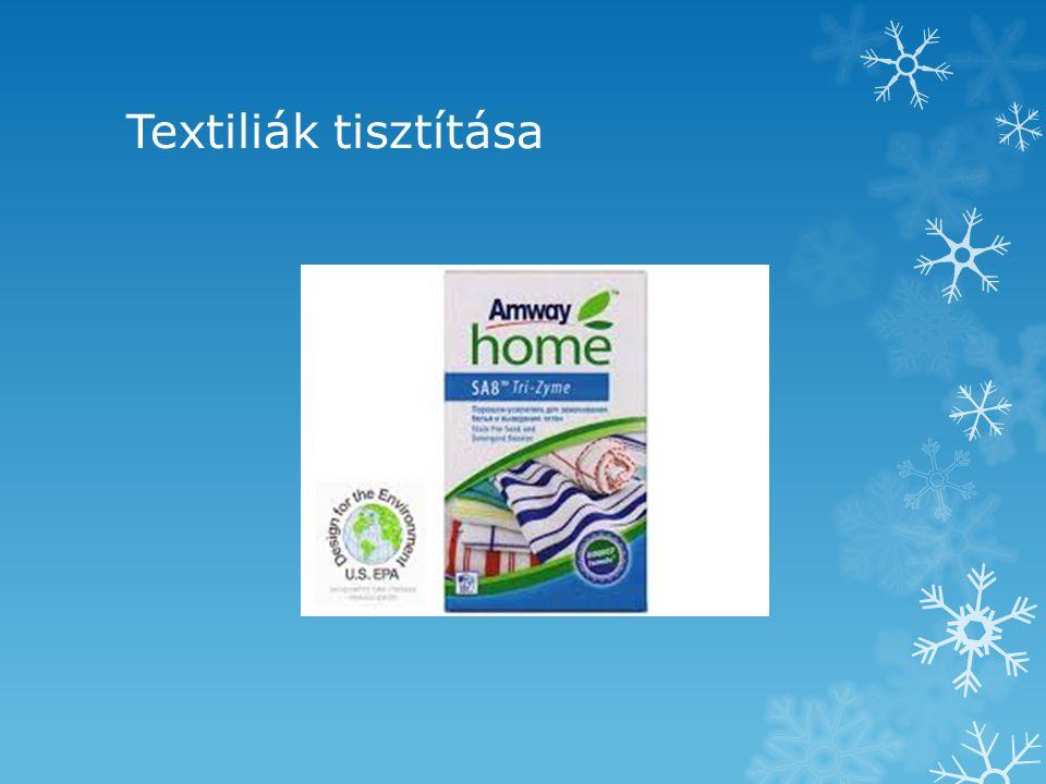 Textiliák tisztítása