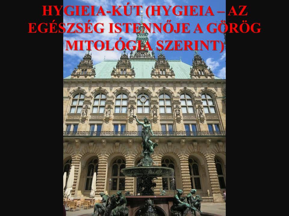 HYGIEIA-KÚT (HYGIEIA – AZ EGÉSZSÉG ISTENNŐJE A GÖRÖG MITOLÓGIA SZERINT)