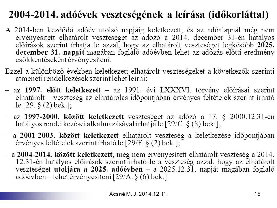 Ácsné M.J. 2014.12.11.15 2004-2014.