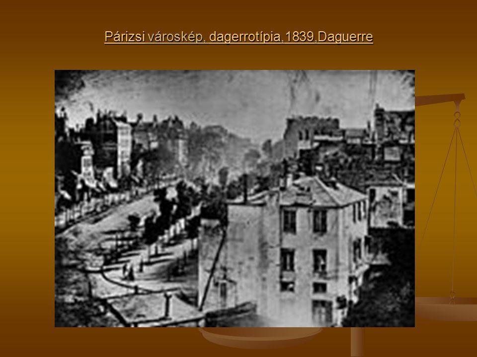 PárizsiPárizsi városkép, dagerrotípia,1839,Daguerre dagerrotípia1839Daguerre Párizsidagerrotípia1839Daguerre