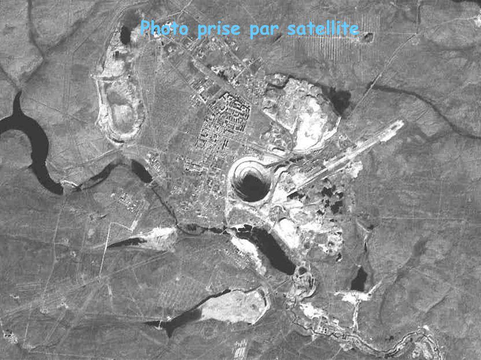 Photo prise par satellite