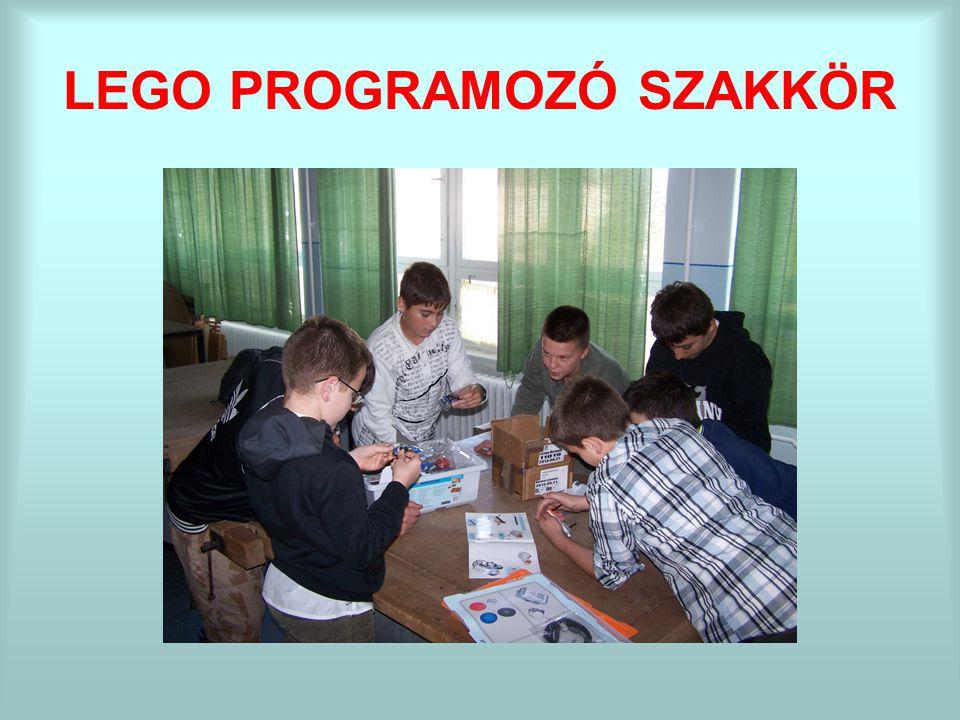LEGO PROGRAMOZÓ SZAKKÖR