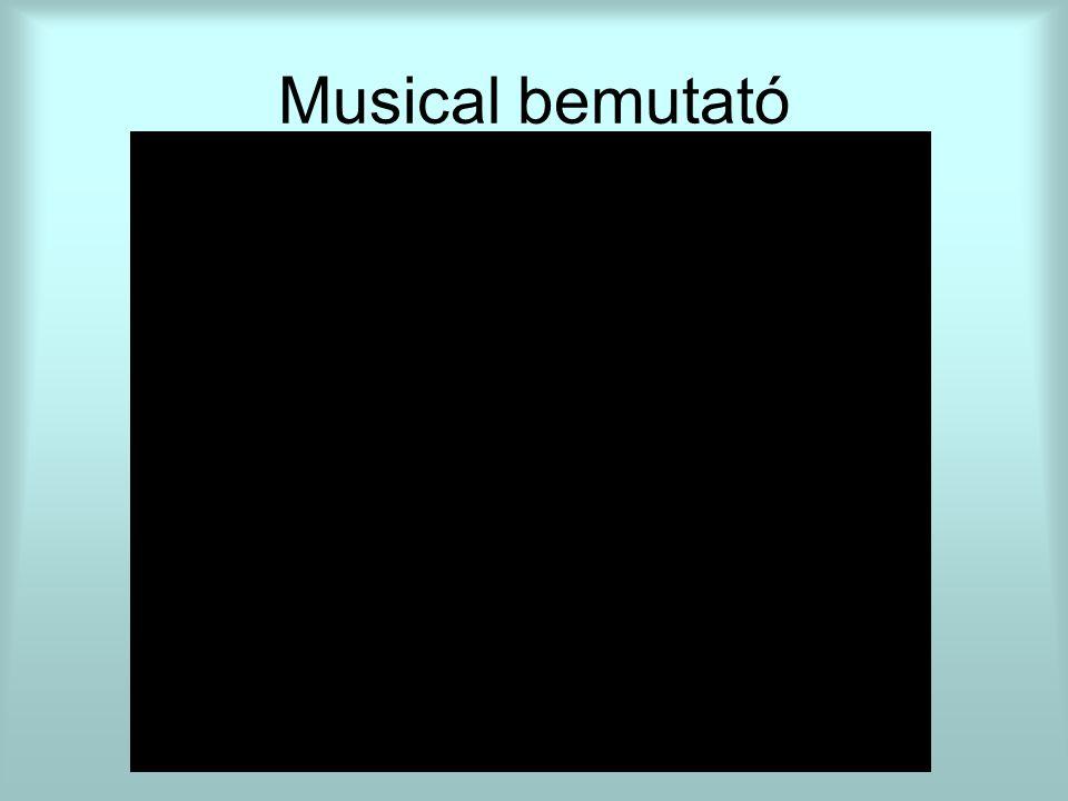 Musical bemutató