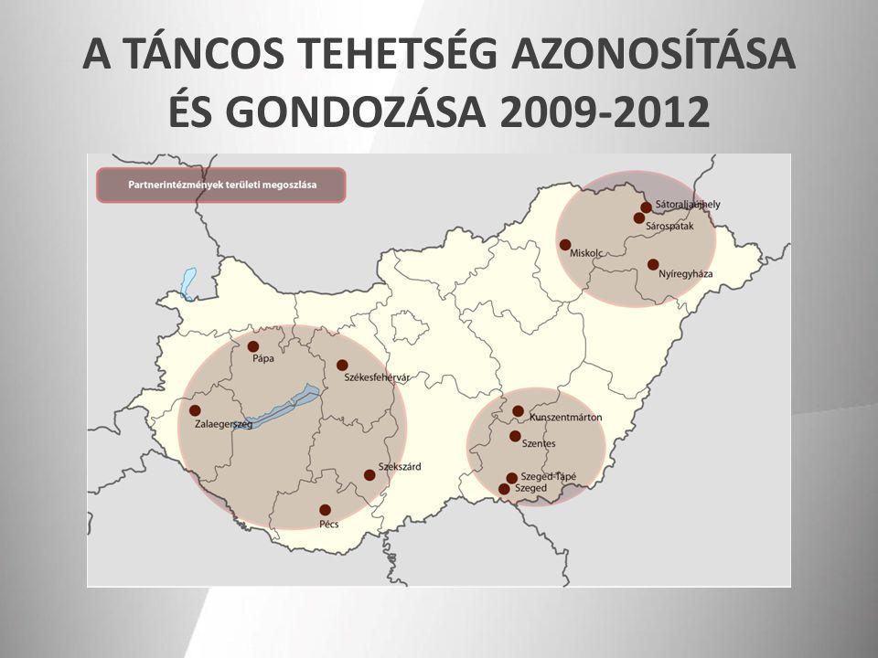 A TÁNCOS TEHETSÉG AZONOSÍTÁSA ÉS GONDOZÁSA 2009-2012