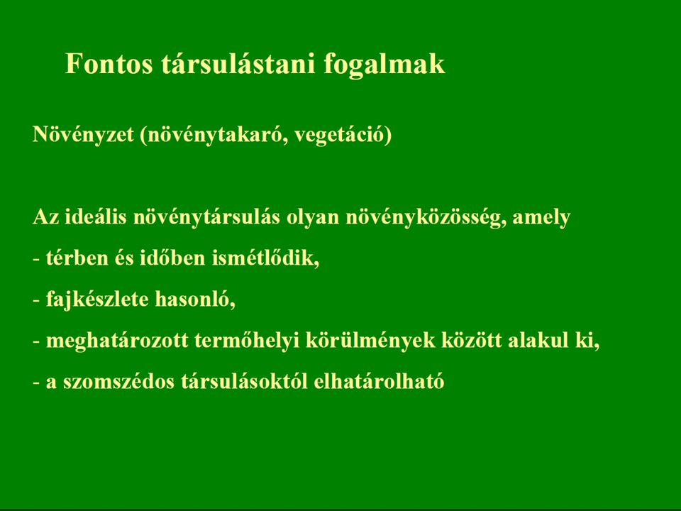 Az állandóan mozgó talajfelszín miatt a feltalaj nitrogénben állandóan dúsul, ezért több nitrofil faj is konstans: nagycsalán (Urtica dioica), falgyom (Parietaria officinalis), vérehulló fecskefű (Chelidonium majus), nehézszagú gólyaorr (Geranium robertianum).