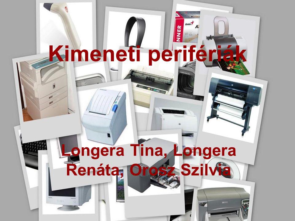 Periféria: A számítógépek adatbevitelére, adatkivitelére és adattárolására szolgáló külső vagy belső egység.