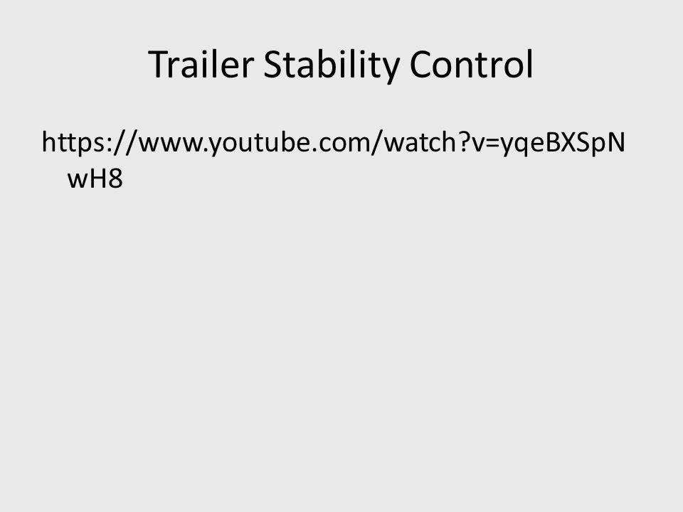 Trailer Stability Control https://www.youtube.com/watch?v=yqeBXSpN wH8