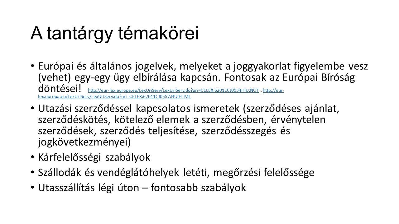 Példa Mi történik akkor, ha Magyarországon és magyar utazási vállalkozóval köt szerződést egy olyan utas, aki a magyar jog szerint cselekvőképesnek minősül (elmúlt 18 éves), de saját országának joga szerint csak korlátozottan cselekvőképes.